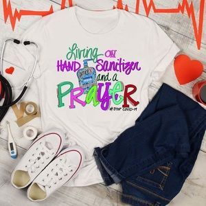 Living on Hand Sanitizer & a Prayer